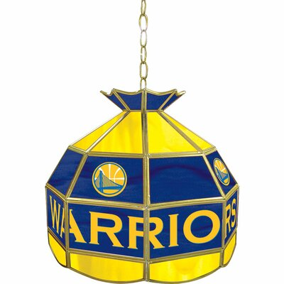1-Light Tiffany Vanity Light NBA Team: Golden State Warriors