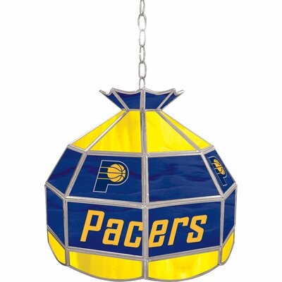 1-Light Tiffany Vanity Light NBA Team: Indiana Pacers
