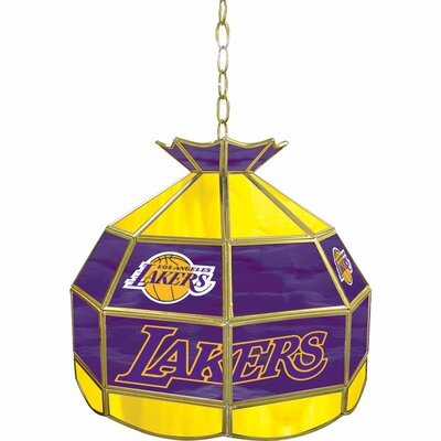 1-Light Tiffany Vanity Light NBA Team: Los Angeles Lakers