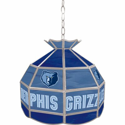1-Light Tiffany Vanity Light NBA Team: Memphis Grizzlies