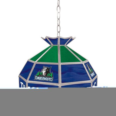 1-Light Tiffany Vanity Light NBA Team: Minnesota Timberwolves