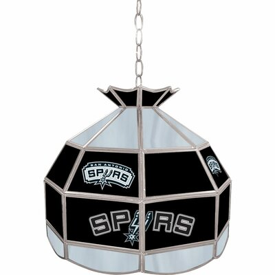 1-Light Tiffany Vanity Light NBA Team: San Antonio Spurs