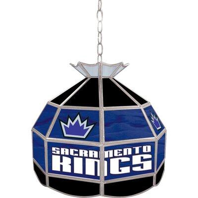 1-Light Tiffany Vanity Light NBA Team: Sacramento Kings