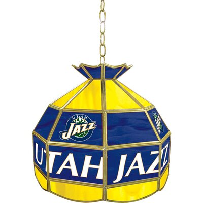 1-Light Tiffany Vanity Light NBA Team: Utah Jazz