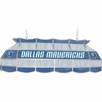 3-Light Pool Table Light NBA Team: Dallas Mavericks