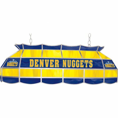 3-Light Pool Table Light NBA Team: Denver Nuggets