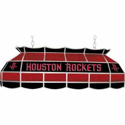 3-Light Pool Table Light NBA Team: Houston Rockets