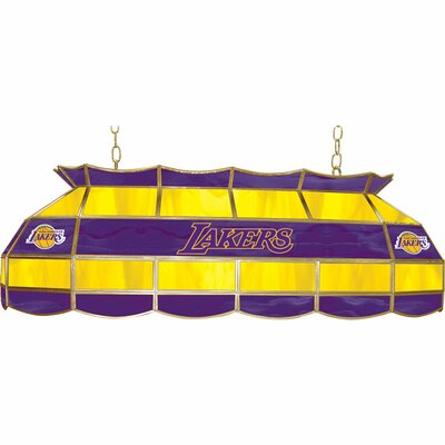 3-Light Pool Table Light NBA Team: Los Angeles Lakers