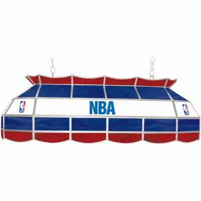 3-Light Pool Table Light NBA Team: NBA Logo