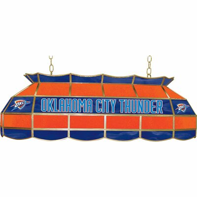 3-Light Pool Table Light NBA Team: Oklahoma City Thunder