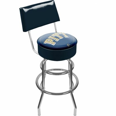 NCAA 31 Swivel Bar Stool NCAA Team: University of Pittsburgh