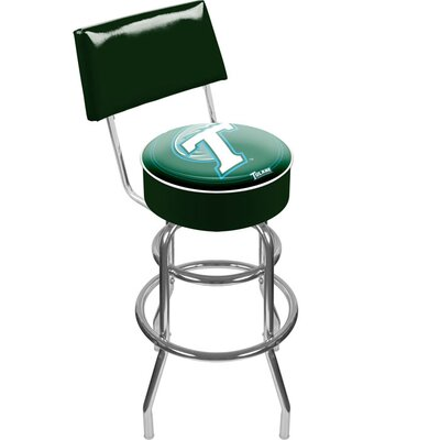 NCAA 31 Swivel Bar Stool NCAA Team: Tulane University