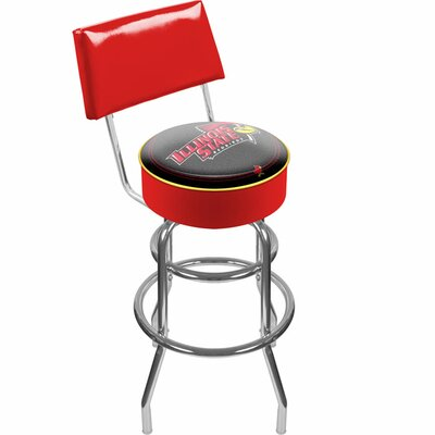 NCAA 31 Swivel Bar Stool NCAA Team: Illinois State University
