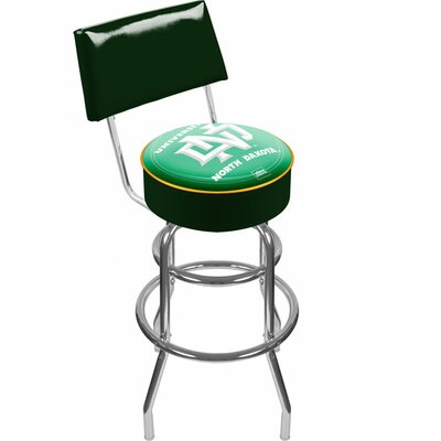 NCAA 31 Swivel Bar Stool NCAA Team: University of North Dakota