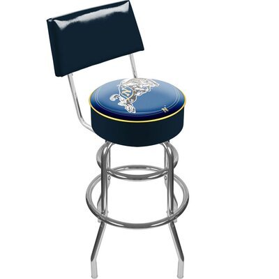 NCAA 31 Swivel Bar Stool NCAA Team: United States Naval Academy