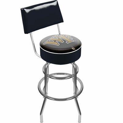 NCAA 31 Swivel Bar Stool NCAA Team: Wake Forest University