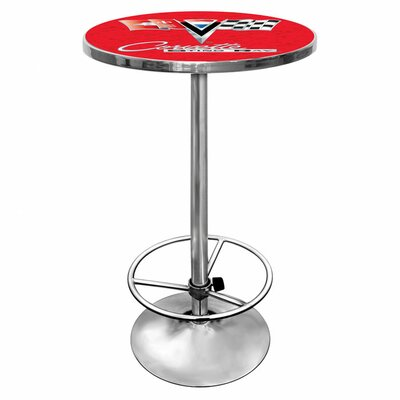 Corvette C2 Pub Table Finish: Red