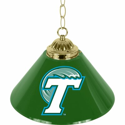 NCAA 1-Light Bar Lamp NCAA Team: Tulane University
