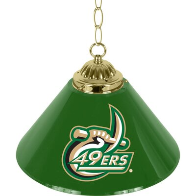 NCAA 1-Light Bar Lamp NCAA Team: N.C. Charlotte