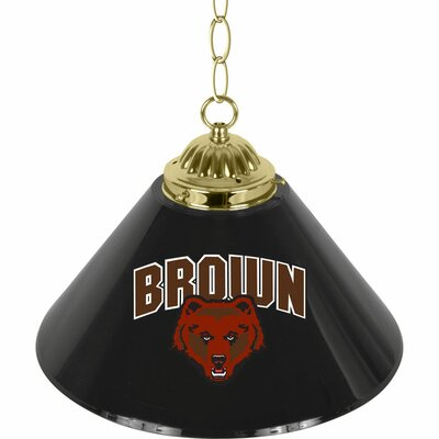 NCAA 1-Light Bar Lamp NCAA Team: Brown University