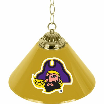 NCAA 1-Light Bar Lamp NCAA Team: East Carolina University