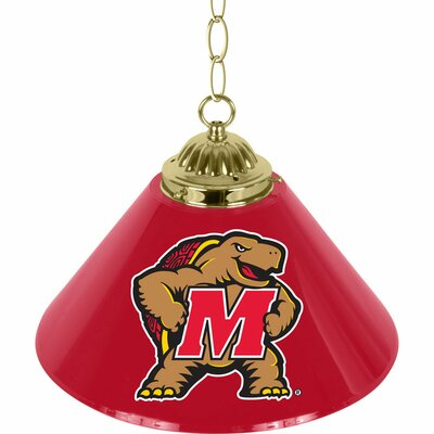 NCAA 1-Light Bar Lamp NCAA Team: Maryland University