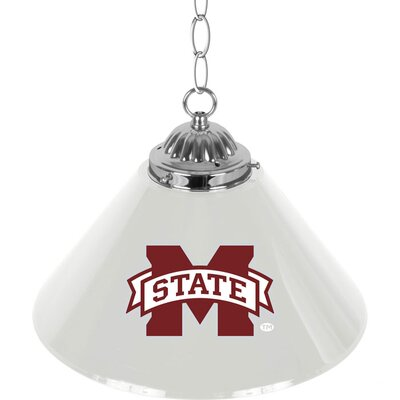 NCAA 1-Light Bar Lamp NCAA Team: Mississippi State