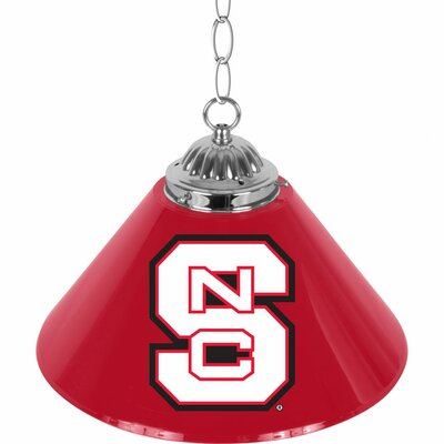 NCAA 1-Light Bar Lamp NCAA Team: North Carolina State