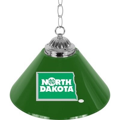 NCAA 1-Light Bar Lamp NCAA Team: University of North Dakota