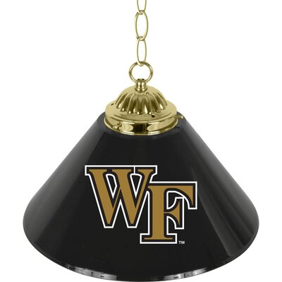 NCAA 1-Light Bar Lamp NCAA Team: Wake Forest University