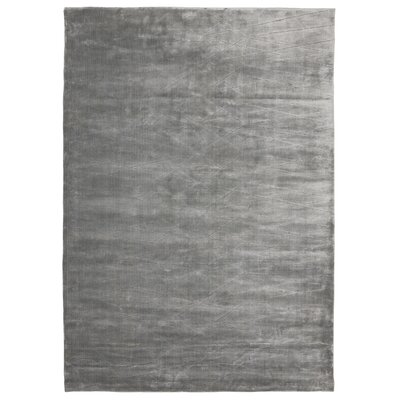 Bengt Hand-Loomed Gray Area Rug Rug Size: 57 x 79