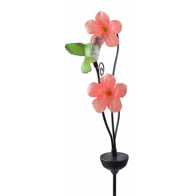 Solar Powered Hummingbird Light Garden Stake 92548
