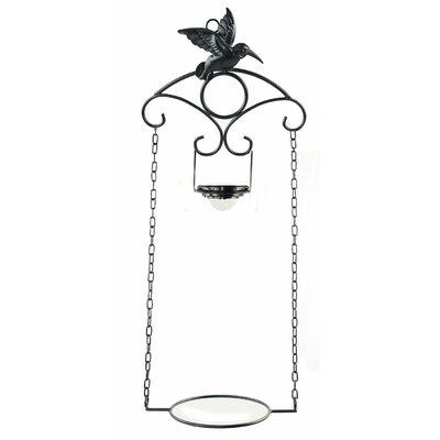 Hummingbird Metal Wall Planter 92321