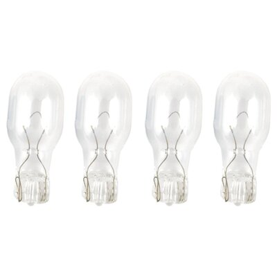 Wedge Base Incandescent Light Bulb Wattage: 4