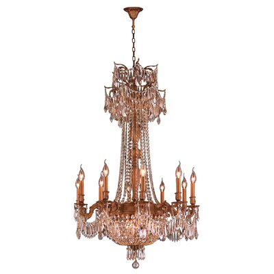 Reimer 15-Light Crystal Chandelier