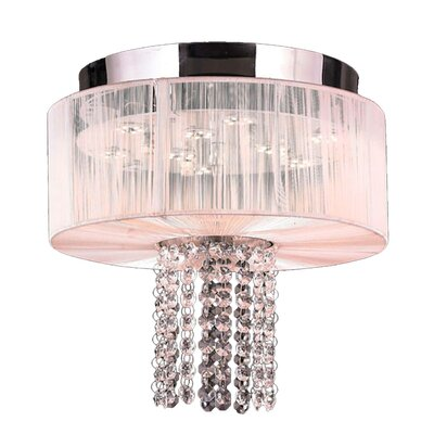 Alice 5-Light Flush Mount