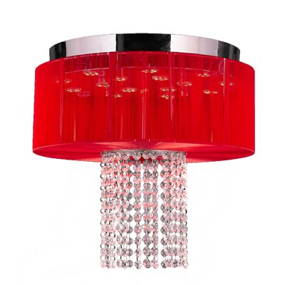 Alice 6-Light Flush Mount