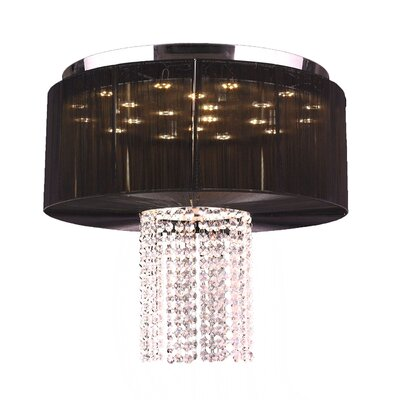Alice 9-Light Flush Mount