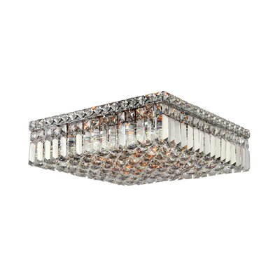 Anjali Square 6-Light Flush Mount