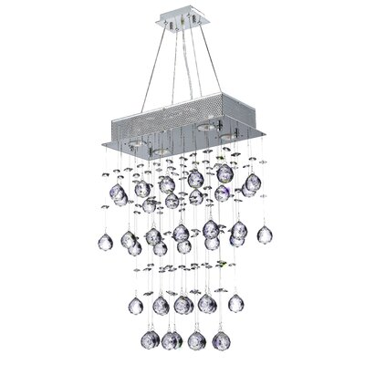 Icicle 7-Light Kitchen Island Pendant