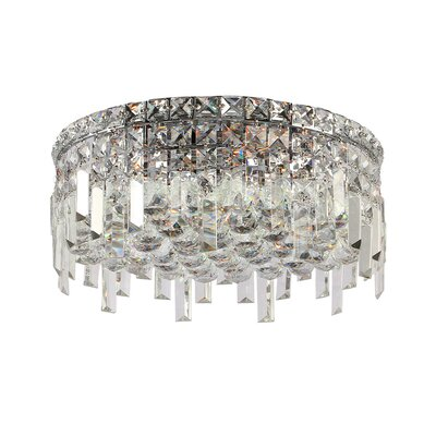 Anjali Round 5-Light Flush Mount