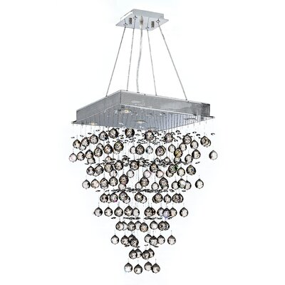 Icicle 5-Light Crystal Chandelier