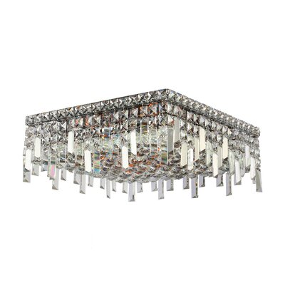 Anjali Modern 6-Light Flush Mount