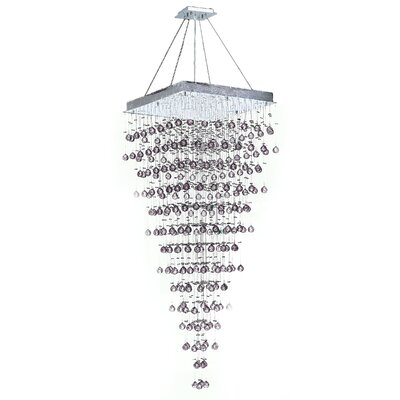 Leiker 10-Light Crystal Chandelier