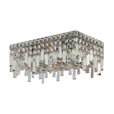 Anjali Metal 4-Light Flush Mount