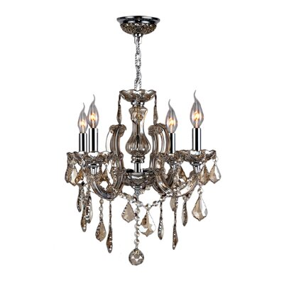 Catherine 4-Light Crystal Chandelier