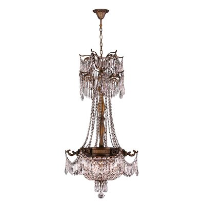 Reimer Traditional 3-Light Crystal Chandelier