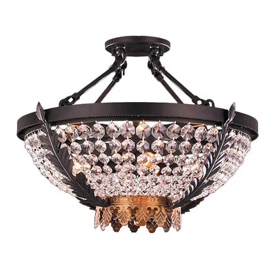 Enfield 4-Light Semi Flush Mount