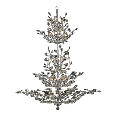 Aspen 26-Light Crystal Chandelier