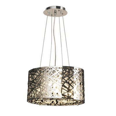 Leite 5-Light Drum Pendant